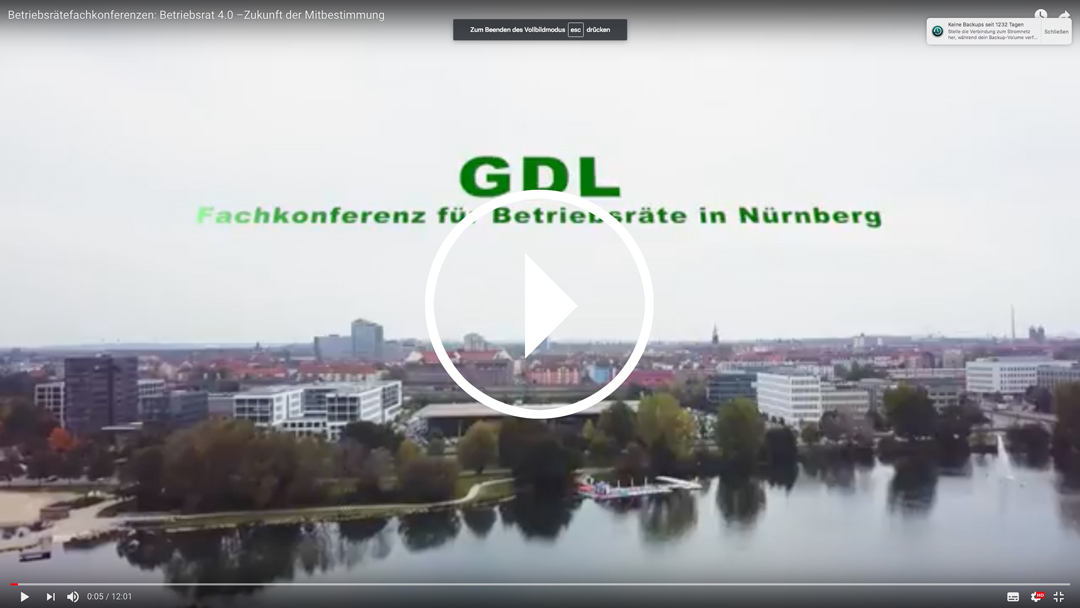 Betriebsrätefachkonferenz Nürnberg – jetzt Video ansehen