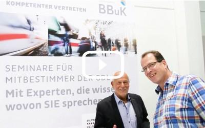 Top! Video über die BetriebsräteFachKonferenz der GDL in Fulda