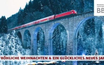Fröhliche Weihnachten & ein Glückliches neues Jahr!